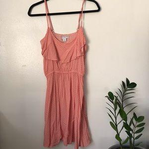 Cotton On summer dress with pink pattern